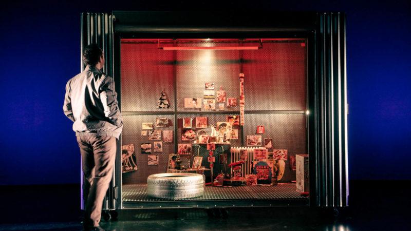Fotos aus Proben zur Premiere von Éric-Emmanuel Schmitts MONSIEUR IBRAHIM UND DIE BLUMEN DES KORAN in der Inszenierung von Tanja Weidner im WBT in Münster. Fotos: K. Lefebvre