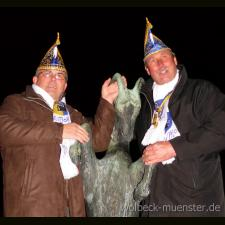 Amtsübernahme bei ZiBoMo vollzogen: Reinhard I. ist Hippenmajor 2009