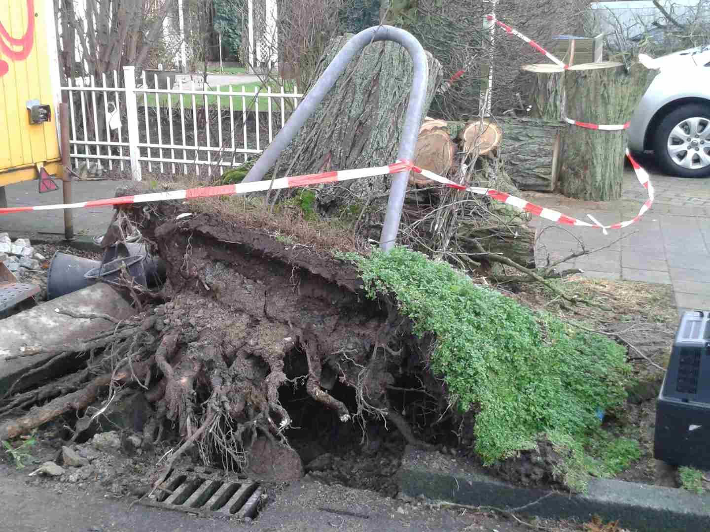 Sturm wütet in Wolbeck