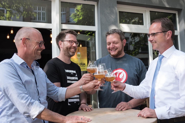 Europa-Bier wird in Münster präsentiert 2