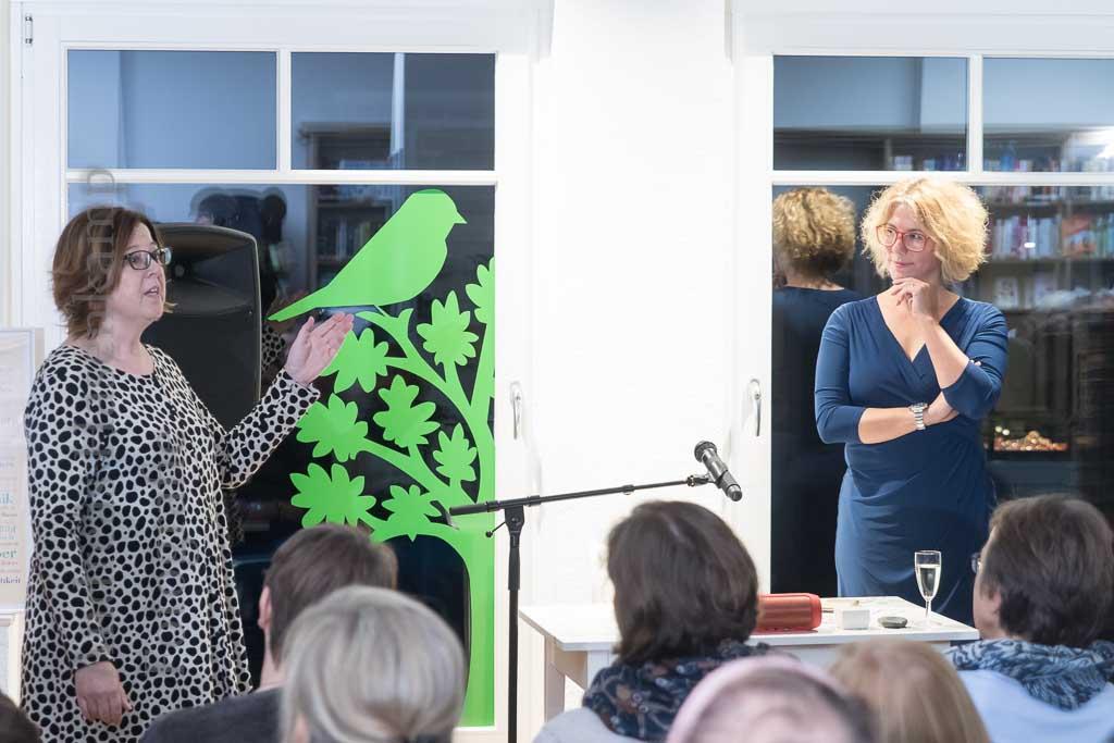 """Nina George erzählt aus und über """"Die Schönheit der Nacht"""" Bestseller-Autorin zum zweiten Mal im Wolbecker """"Buchfink"""""""