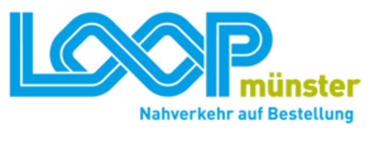 Logo bon LOOPmünster – Nahverkehr auf Bestellung.
