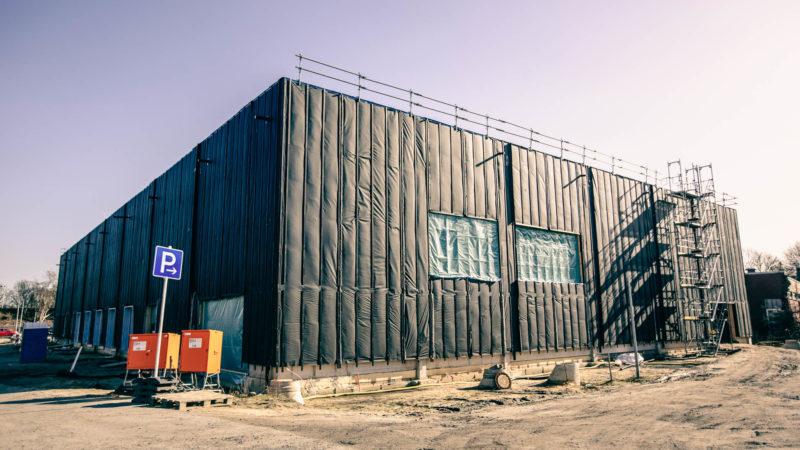 Mathilde-Anneke-Gesamtschule Innenraum Sporthalle