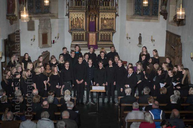 Finnischer Jugendkammerchor begeistert in Alverskirchen 2