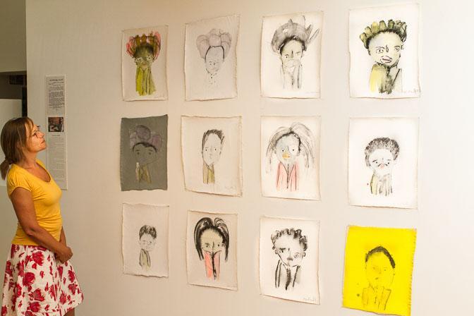 Aquarell-Portraits aus Südindien im Kunsthaus Kannen 3