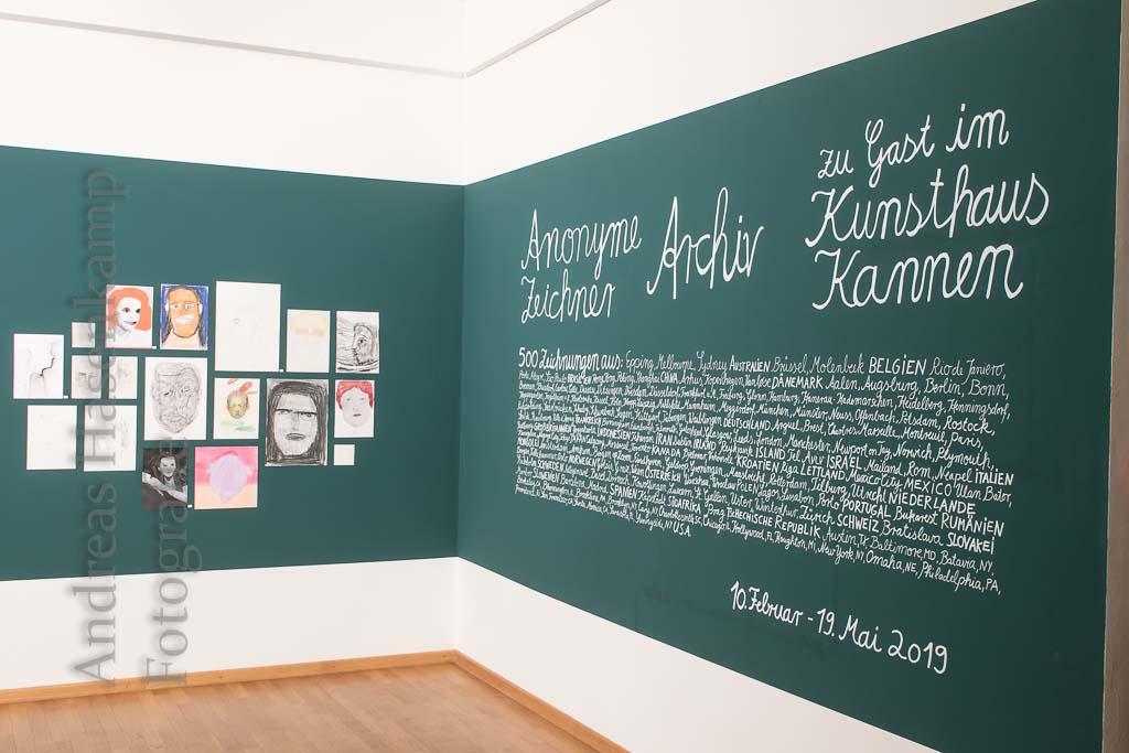 """""""Anonyme"""" im Kunsthaus Kannen 2"""