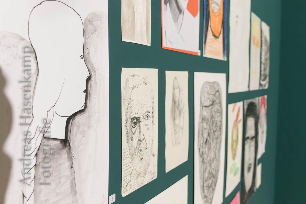 """""""Anonyme"""" im Kunsthaus Kannen Ausstellung mit Outsider Art in Amelsbüren"""