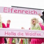 Karnevals-Umzug Amelsbüren 2016: AKG Emmerbachgeister hat Glück