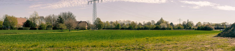 Alt und Neu an der Amelunxenstraße - Panoramaa-Foto