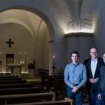 Cello und Orgel in der Vesper in St. Agatha