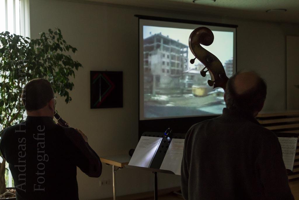 Stummfilm, bewegt mit eigener Musik Film aus Kappadokien, Musik aus Deutschland: Aufführung im Pfarrheim St. Bernhard