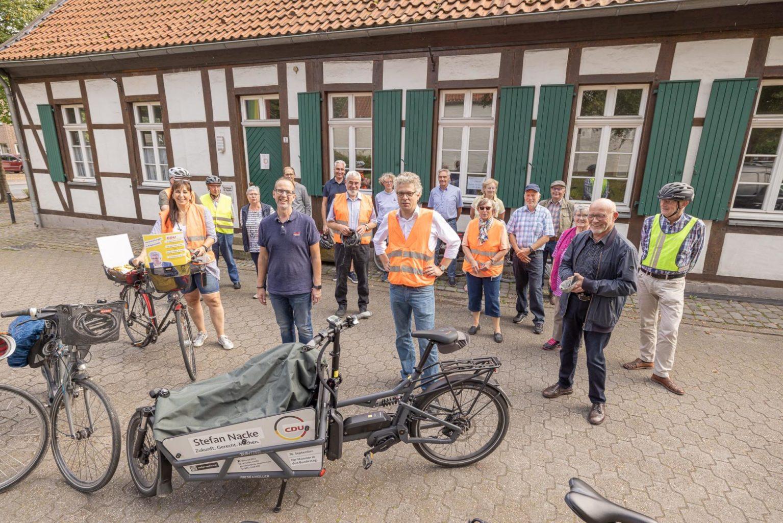 Per Rad durch die Lokalpolitik: Angelmodde von Velo-Route bis Wohnungsbau