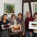Neustart für Kunst im Gallitzin-Haus: Uschi Dillmann organisiert alle zwei Monate Ausstellungen