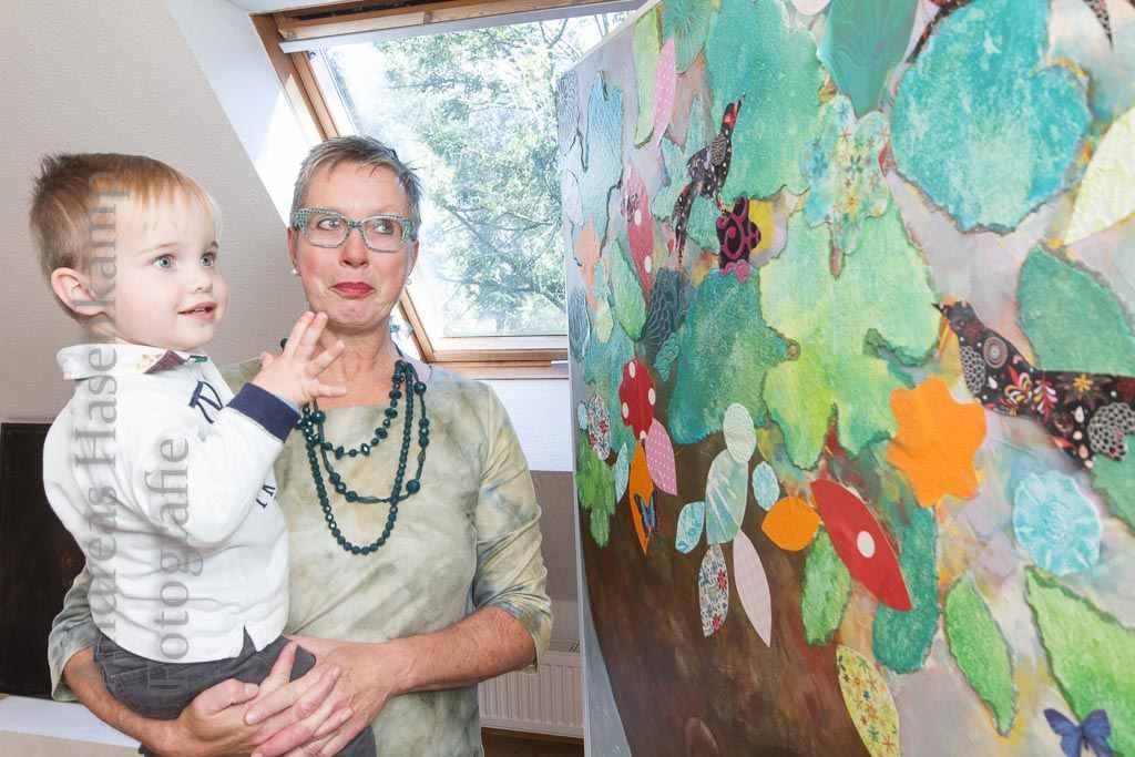 Frauen aus Holz, Portraits aus Augen 3