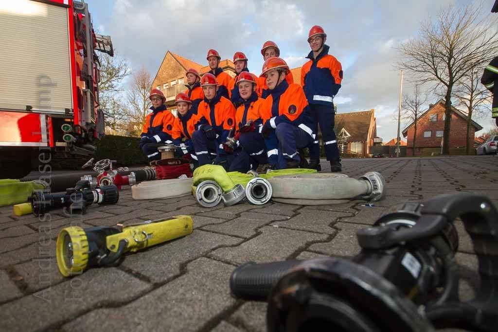 Jugendfeuerwehr aus Münster probt für den Brandfall 3