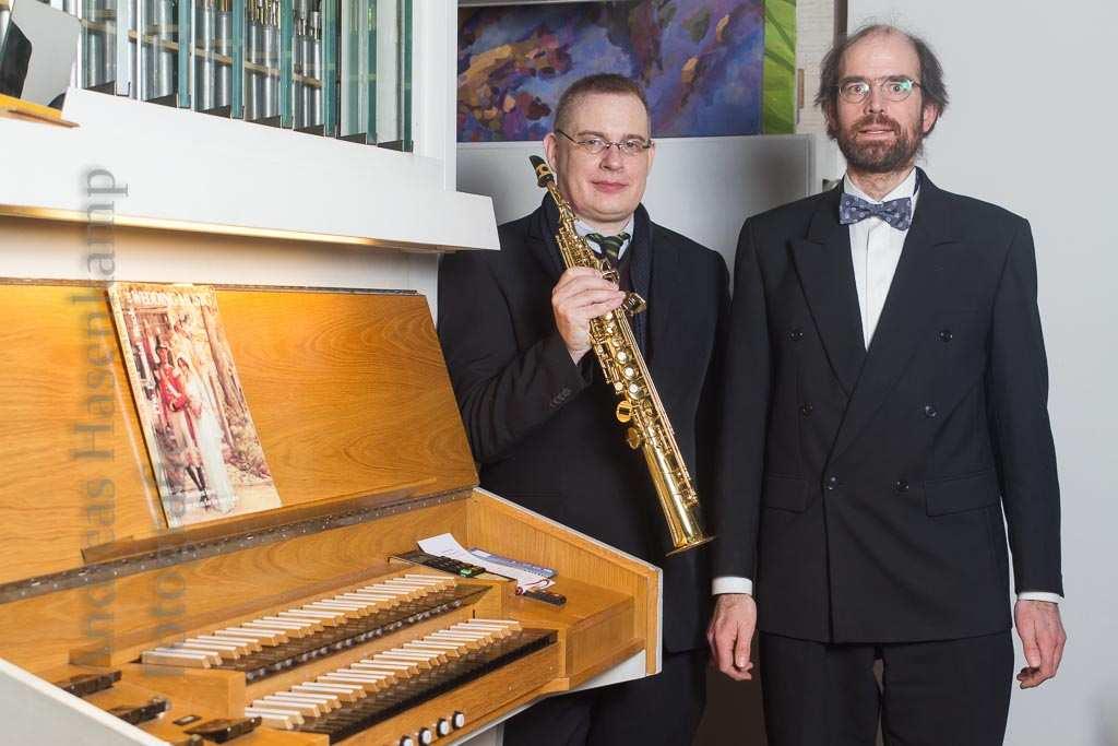Saxophon und Orgel: Experiment Barock 8