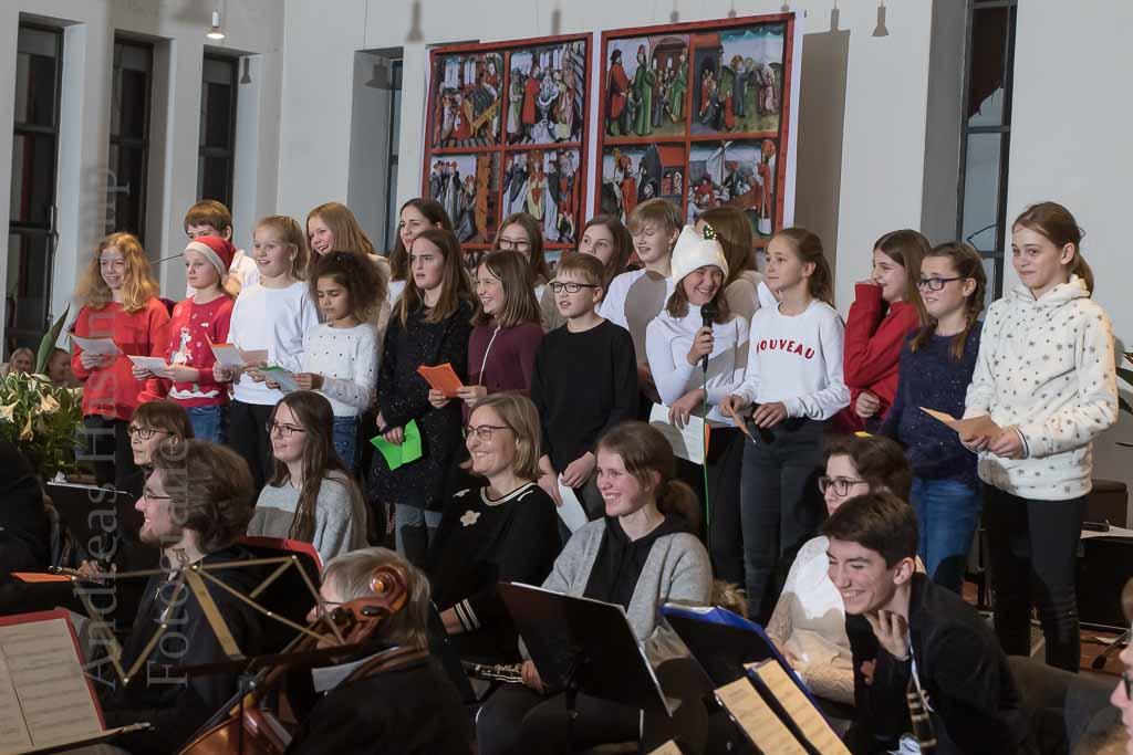Weihnachtskonzert des Gymnasiums Wolbeck mit Überraschungen