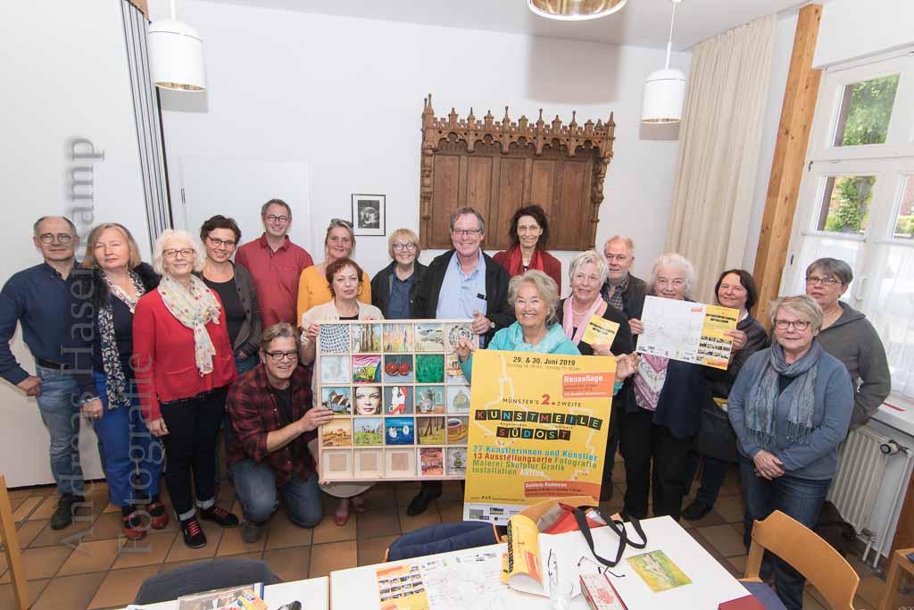 """""""Kunstmeile Südost"""" lädt ein in Wolbeck und Angelmodde 27 Künstler beteiligt an zweiter Auflage des Publikumsrenners"""