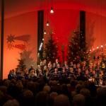 Chor conTakt füllt St. Bernhard beim Weihnachtssingen 2016