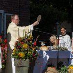 Erntedank-Gottesdienst am Hof Vornholt gut besucht 2