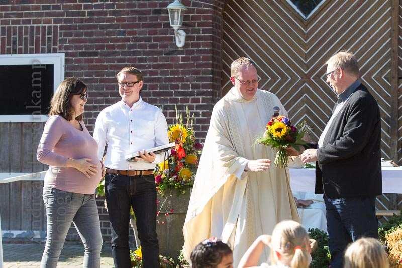 Erntedank-Gottesdienst am Hof Vornholt gut besucht 7