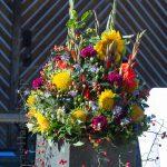 Erntedank-Gottesdienst am Hof Vornholt gut besucht 8