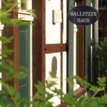 Eingang zum Gallitzin-Haus in Münster-Angelmodde. Foto: Andreas Hasenkamp.