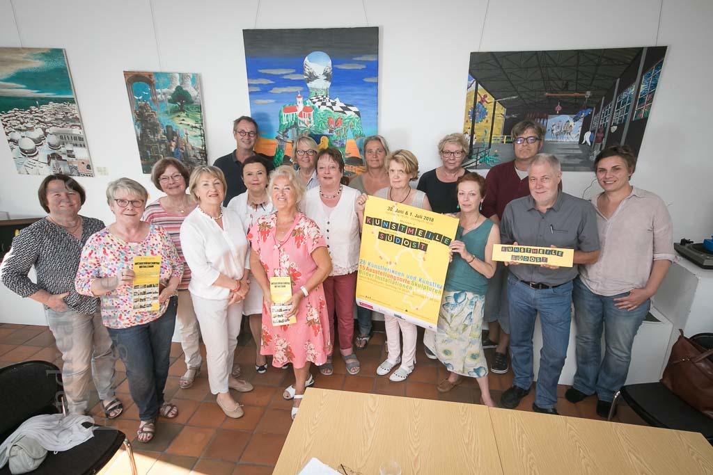 Kunstmeile Südost steht bevor Künstlerinnen und Künstler treffen letzte Vorbereitungen
