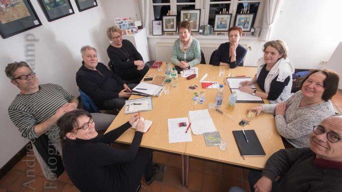 Neuen Künstler planen Angelmodder Kunstmeile mit.