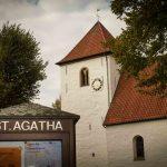 Gegenüber dem Gallitzin-Haus liegt die Kirche St. Agatha. Fotograf: Andreas Hasenkamp.