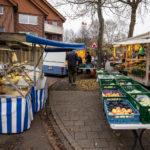 Feinkost, Gemüse, Brot: Wochenmarkt Angelmodde erweitert