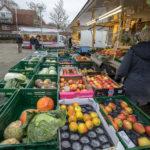 Wochenmärkte in Münster melden verstärktes Besucher-Interesse