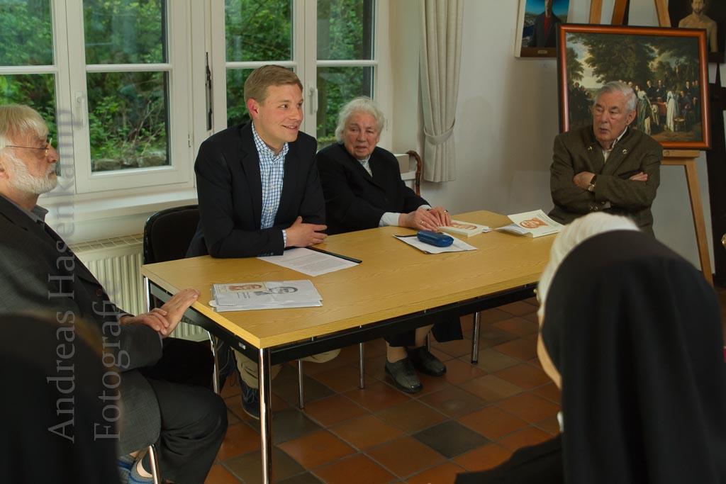 Preis für Forschungen über Demetrius Gallitzin in Münster verliehen