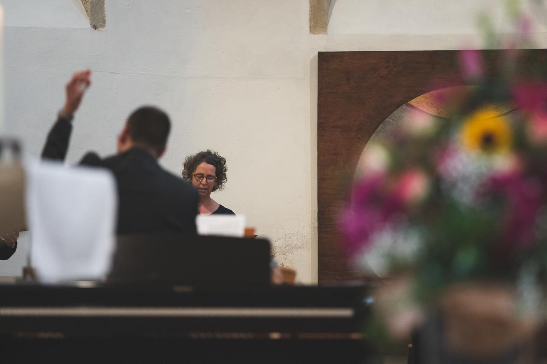 Musiker im Gottesdienst zur Verabschiedung von Pfarrerin Ulrike Krüger.
