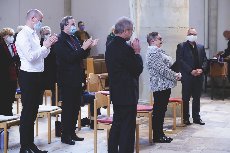Dr. Christoph Nooke, Friedrich Stahlhut, Heinrich Kandzis, Ulrike Krüger, Holger Erdmann.