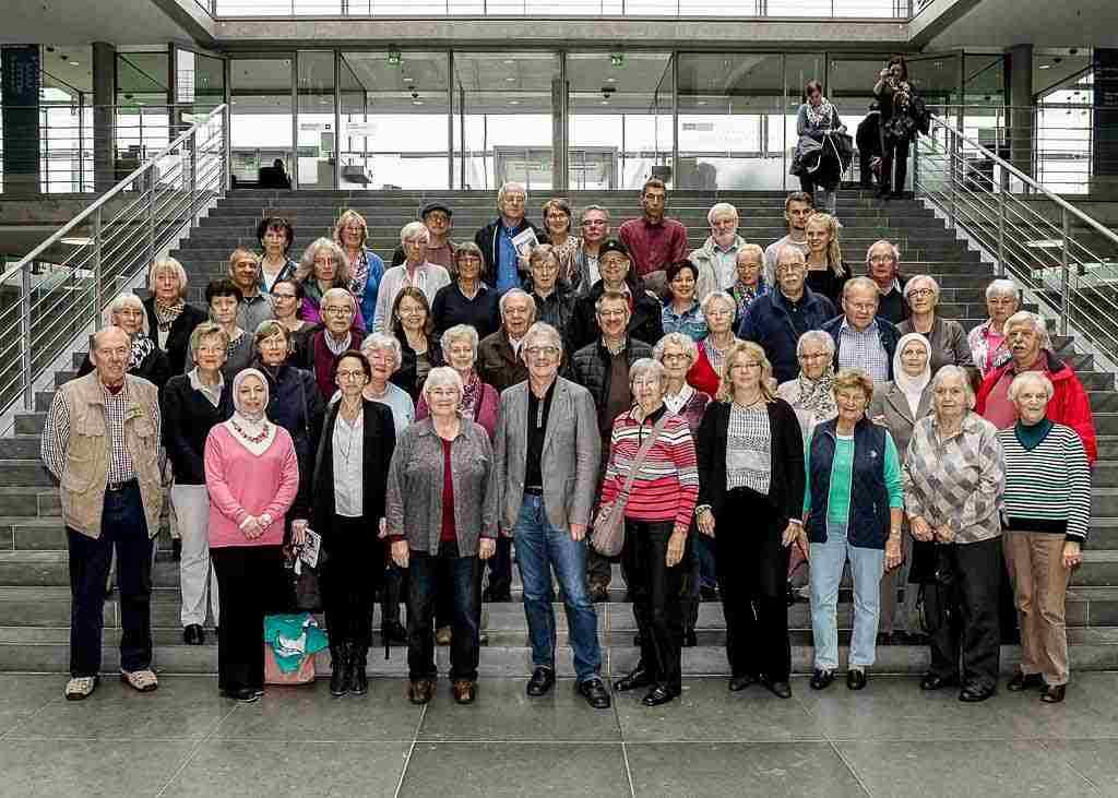 AWO-Ortsverein Wolbeck besucht Berlin