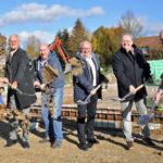 Spatenstich: Frede realisiert neues Backhaus in 3. Generation