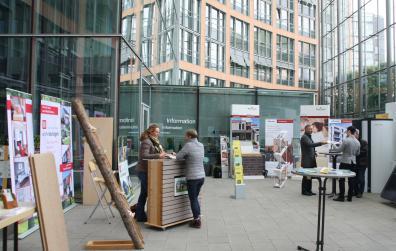 Energieeffizientes Bauen: Ausstellung im Stadthaus 3 Münster