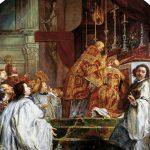 Flammender Feuerball gehört auch zur Legende vom heiligen Martin