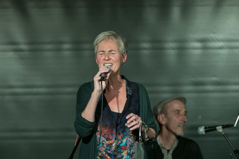 Das Broomstick-Quartett zum ersten Mal im Kulturbahnhof Hiltrup 2020. Foto: A. Hasenkamp.