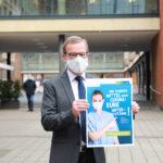 Stadt Münster startet Kampagne für Corona-Schutzregeln