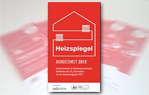 Bundesweiter Heizspiegel 2015 veröffentlicht: Heizkosten sinken