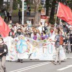 """FFF-Demonstration in Münster fordert Klima-Aktion """"jetzt"""""""