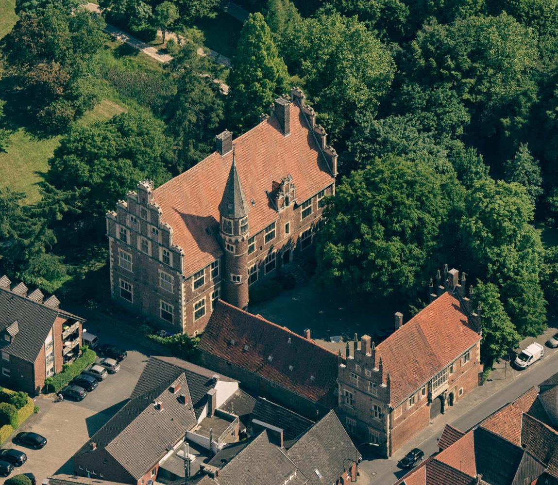 Drostenhof in Wolbeck. Foto: Presseamt Münster / Bernhard Fischer