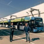 Stadtwerke-Busse legen eine Million Kilometer elektrisch zurück