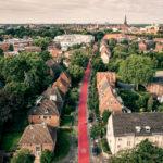 Deutscher Verkehrsplanungspreis: Münsters rote Fahrradstraßen erhalten Anerkennung