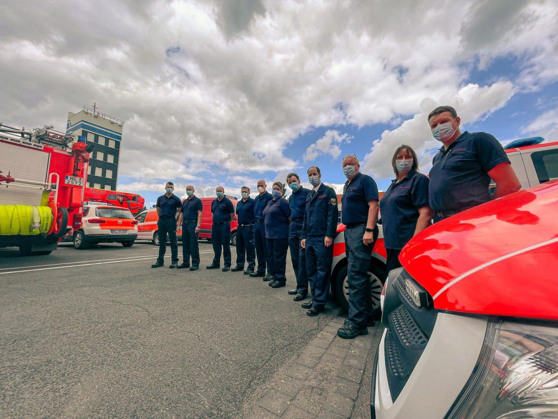 Weiteres Team der Feuerwehr Münster auf dem Weg ins Hochwassergebiet