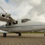 Das Propeller-Flugzeug für die Thermografiebefliegung steht bereit, jetzt muss nur noch das Wetter stimmen. Foto: Miramap Airplanes.