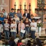 Projektchor des St. Rochus-Hospitals Telgte beim Katholikentag in Münster