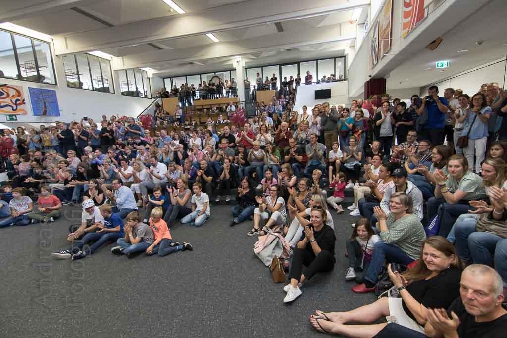 Jubiläums-Schulfest an der Friedensschule Münster lockt viele